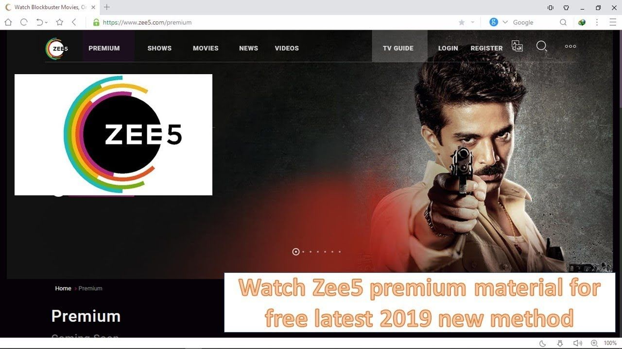 Zee5 Premium Account Login