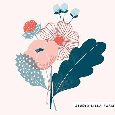 print & pattern: DESIGNER - studio lilla form #flowerpatterndesign
