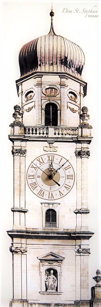 Passauer Dom Wanduhr - Die Kult-Uhr für Passau Wohnzimmer - wanduhren für wohnzimmer