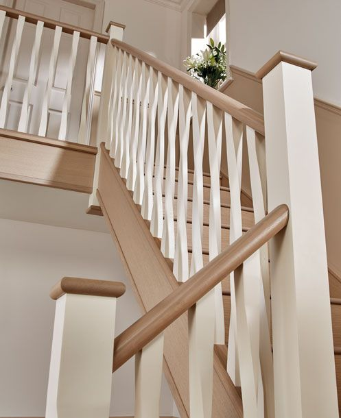 21 Attractive Painted Stairs Ideas Pictures: Painted Staircases, Banister