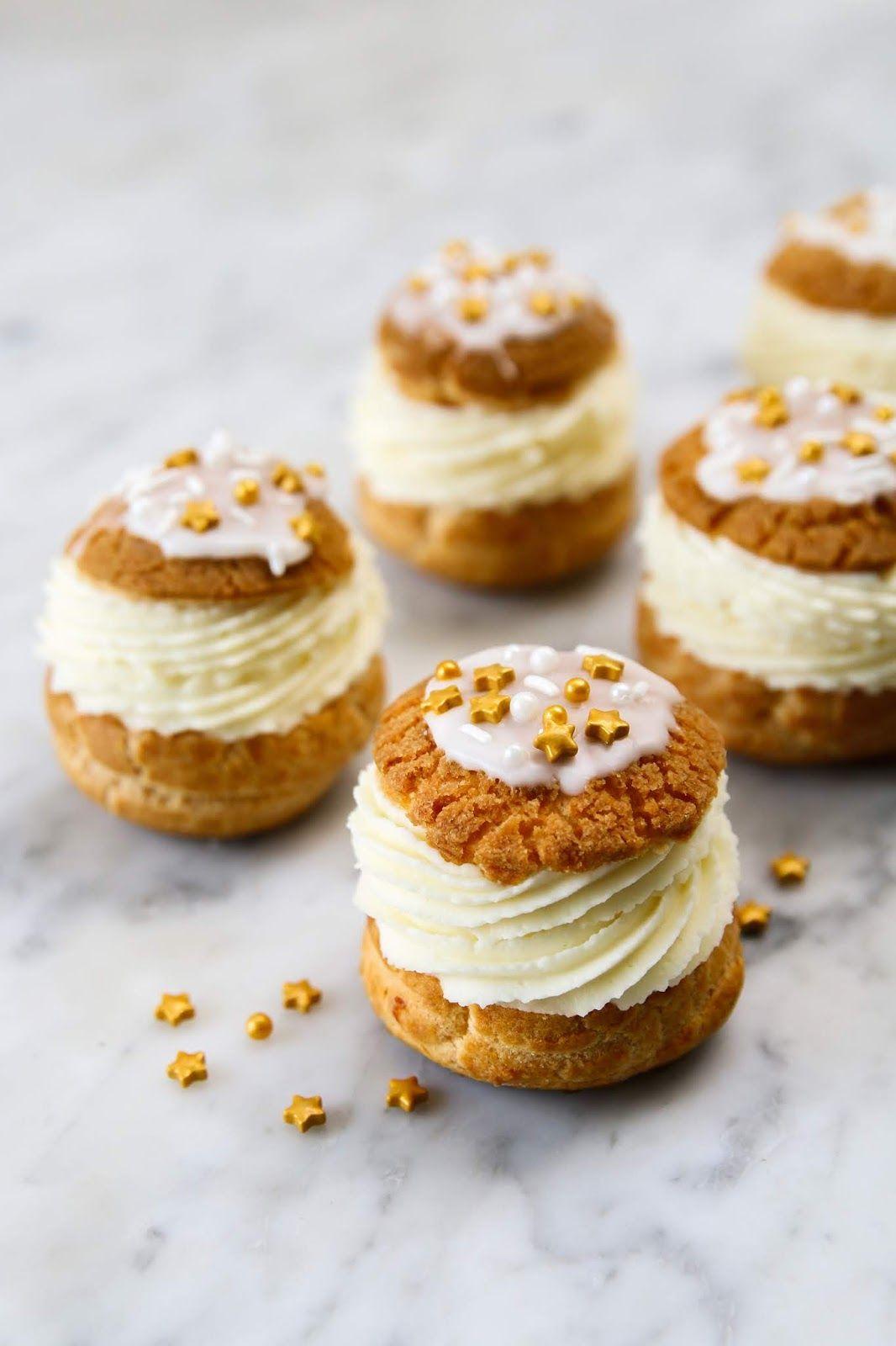Photo of White Chocolate Maple Cream Puffs