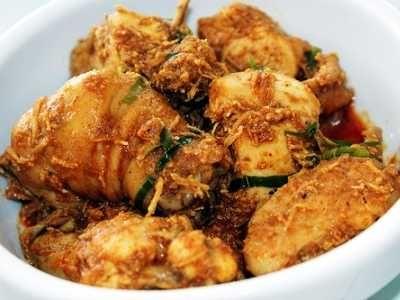 Resep Rendang Ayam Padang Bumbu Rempah Paling Kering Malay Food Food Cooking