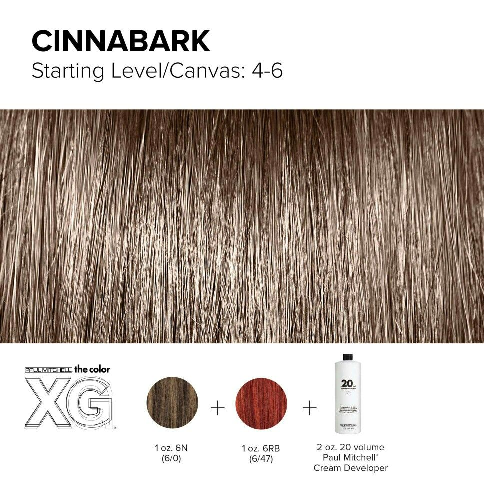 Color XG formula created by Paul Mitchell | Bold Brunettes ...