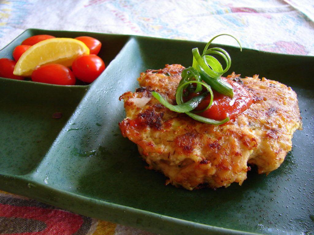 Airfried Salmon Patties Recipe in 2019 Salmon patties