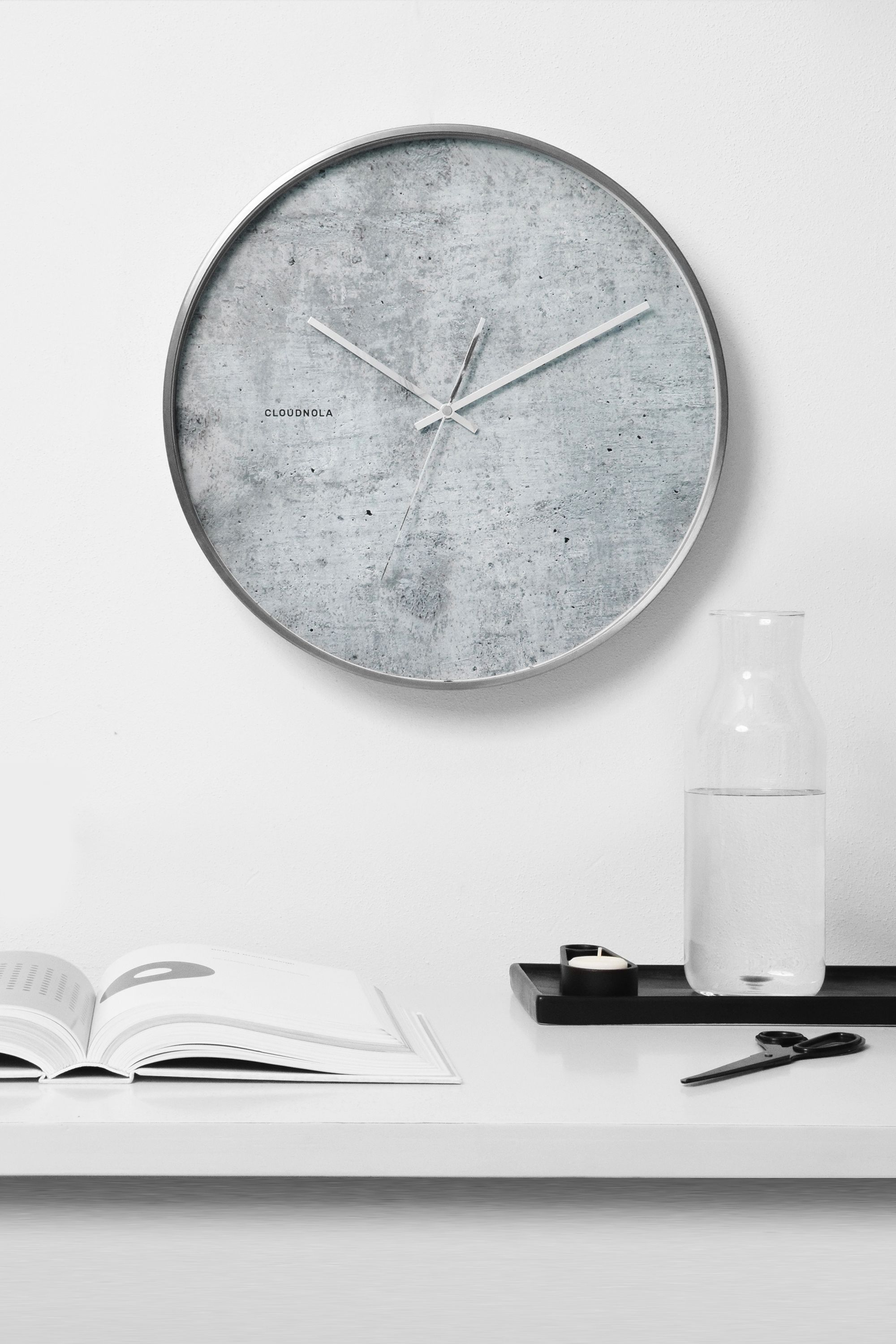 Structure cement clock by cloudnola from cloudnola simple structure cement clock by cloudnola from cloudnola amipublicfo Choice Image