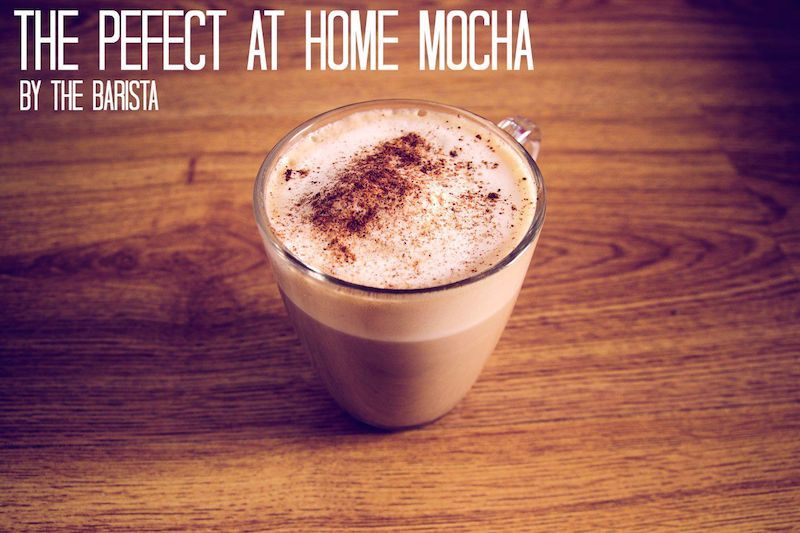 how to make a mocha at home with nespresso