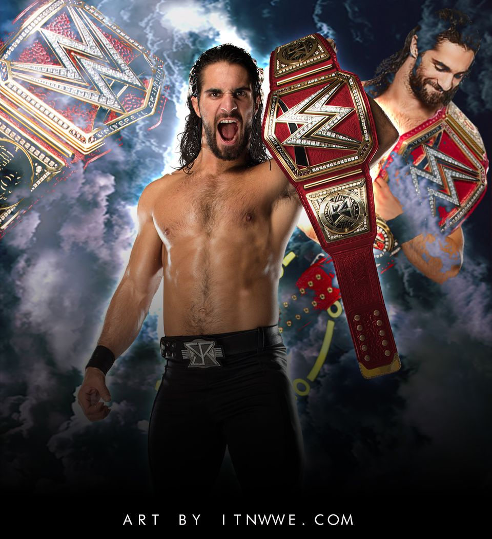 Seth Rollins Universal Champion Wallpaper 2019 By Itnwwe Wwe