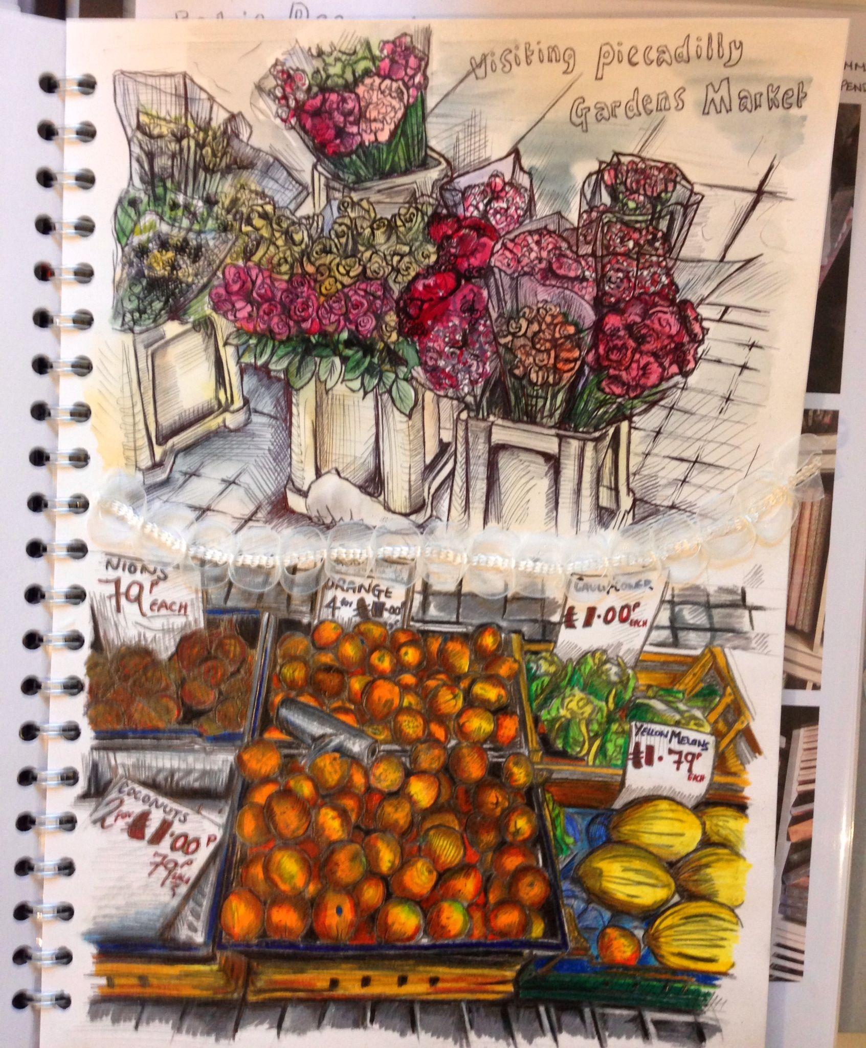My trip to...Manchester Fruit Markets. By Holly Jenneson