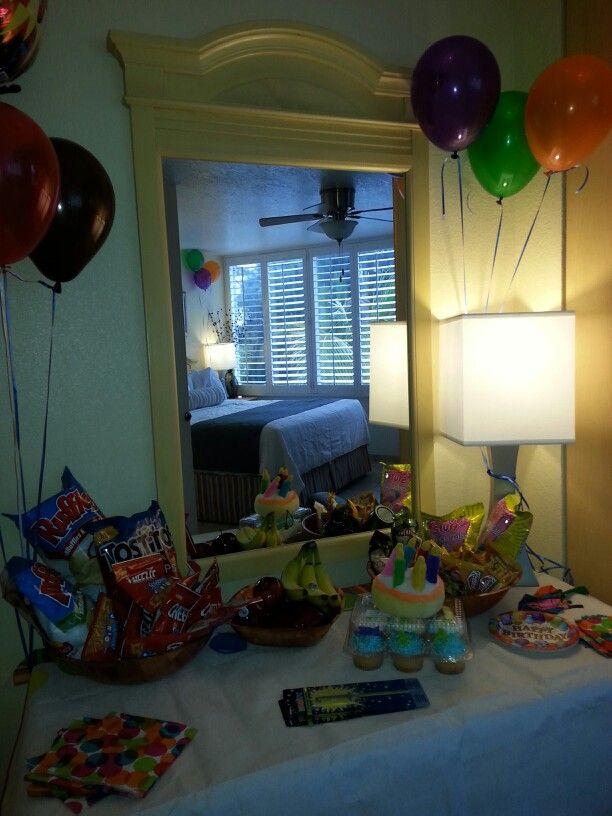 Birthday Party In A Hotel Room Hotel Birthday Parties Slumber Party Birthday Hotel Sleepover Party
