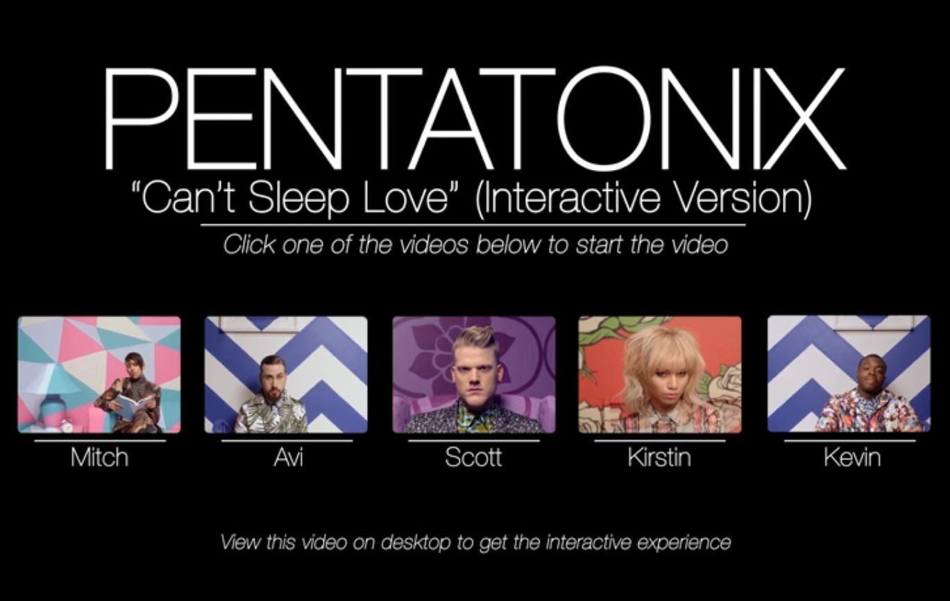 Can\'t Sleep Love (Interactive Version) - Pentatonix https://www ...
