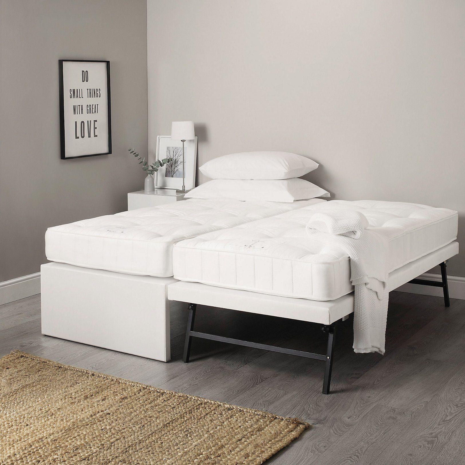 Single Divan & Guest Bed Beds The White Company in