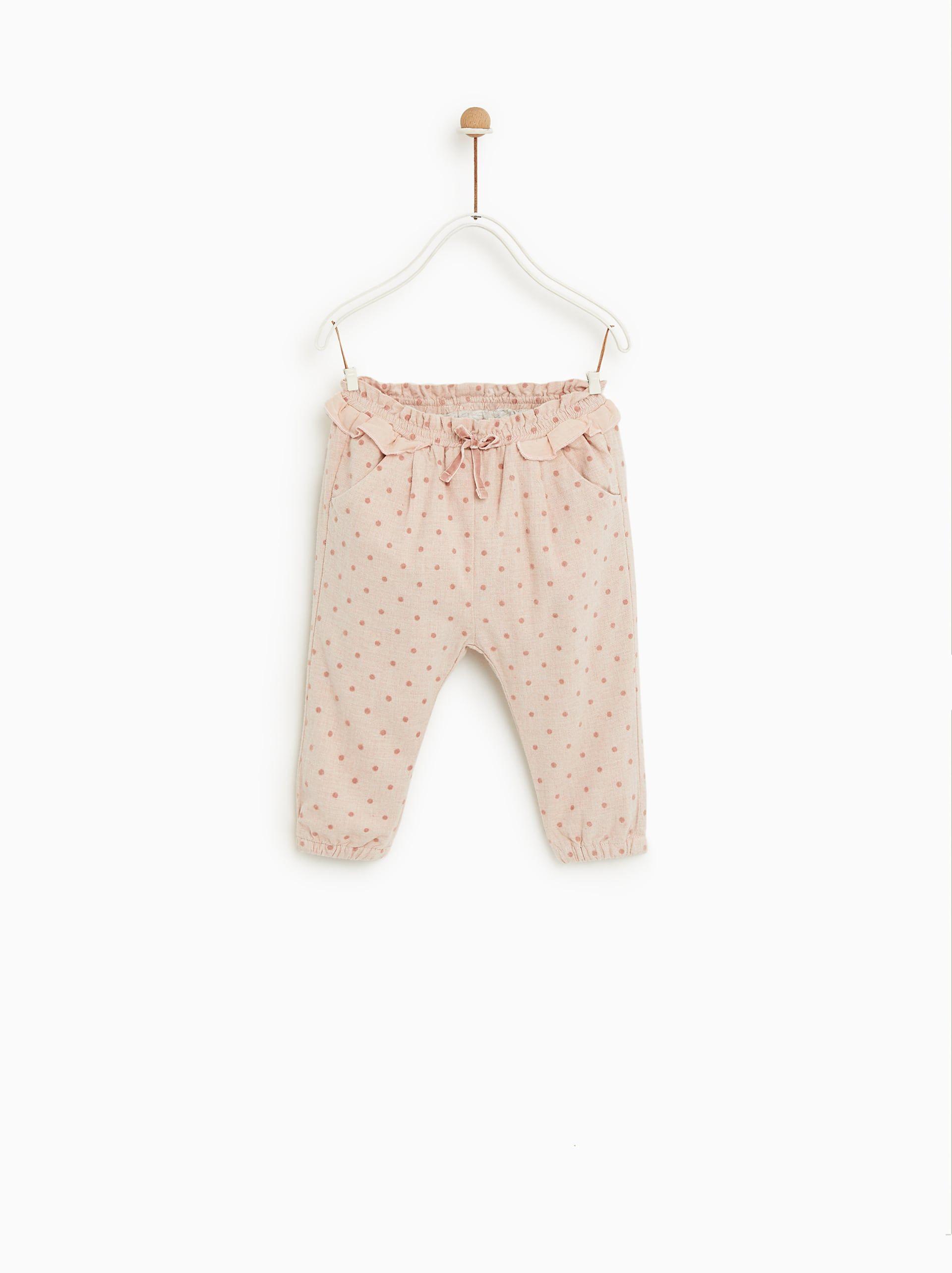 c5b2ef38 Image 1 of POLKA DOT TROUSERS from Zara Baby Kids Clothes, Polka Dot Pants,