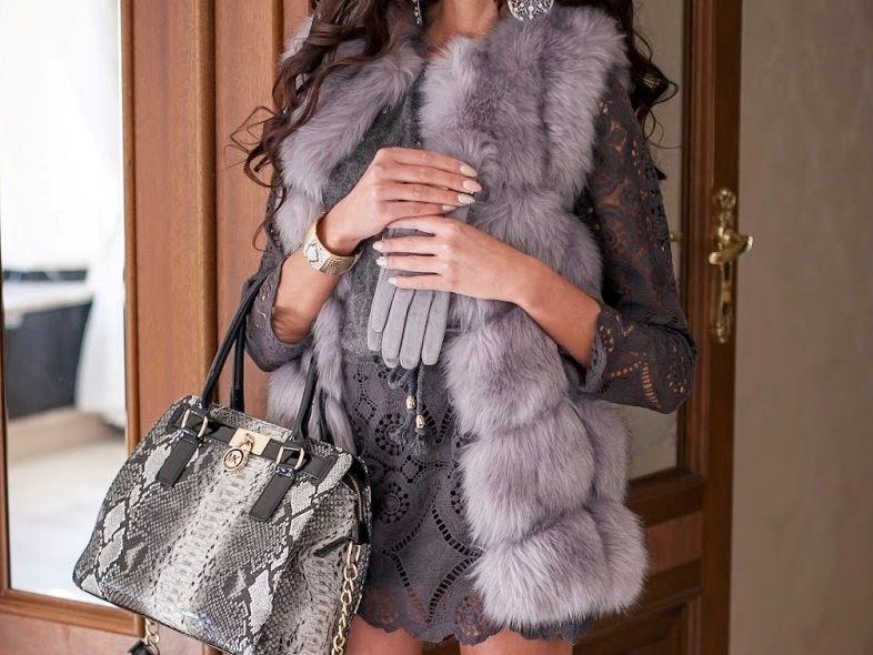 Sliczna Kamizelka Futrzana Sztuczne Futro Futerko 6452602970 Oficjalne Archiwum Allegro Outfits Fashion Dresses