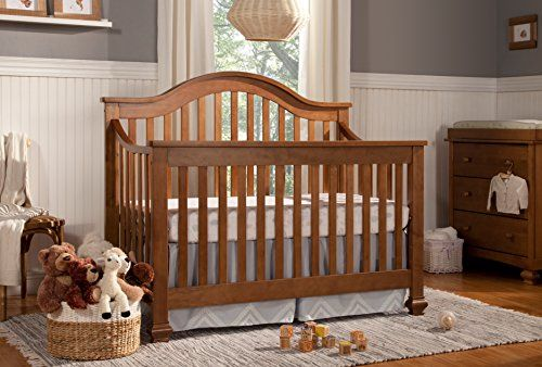 Davinci Clover 4 In 1 Convertible Crib Chestnut