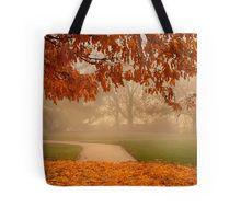 Golden Leave Carpet Tote Bag