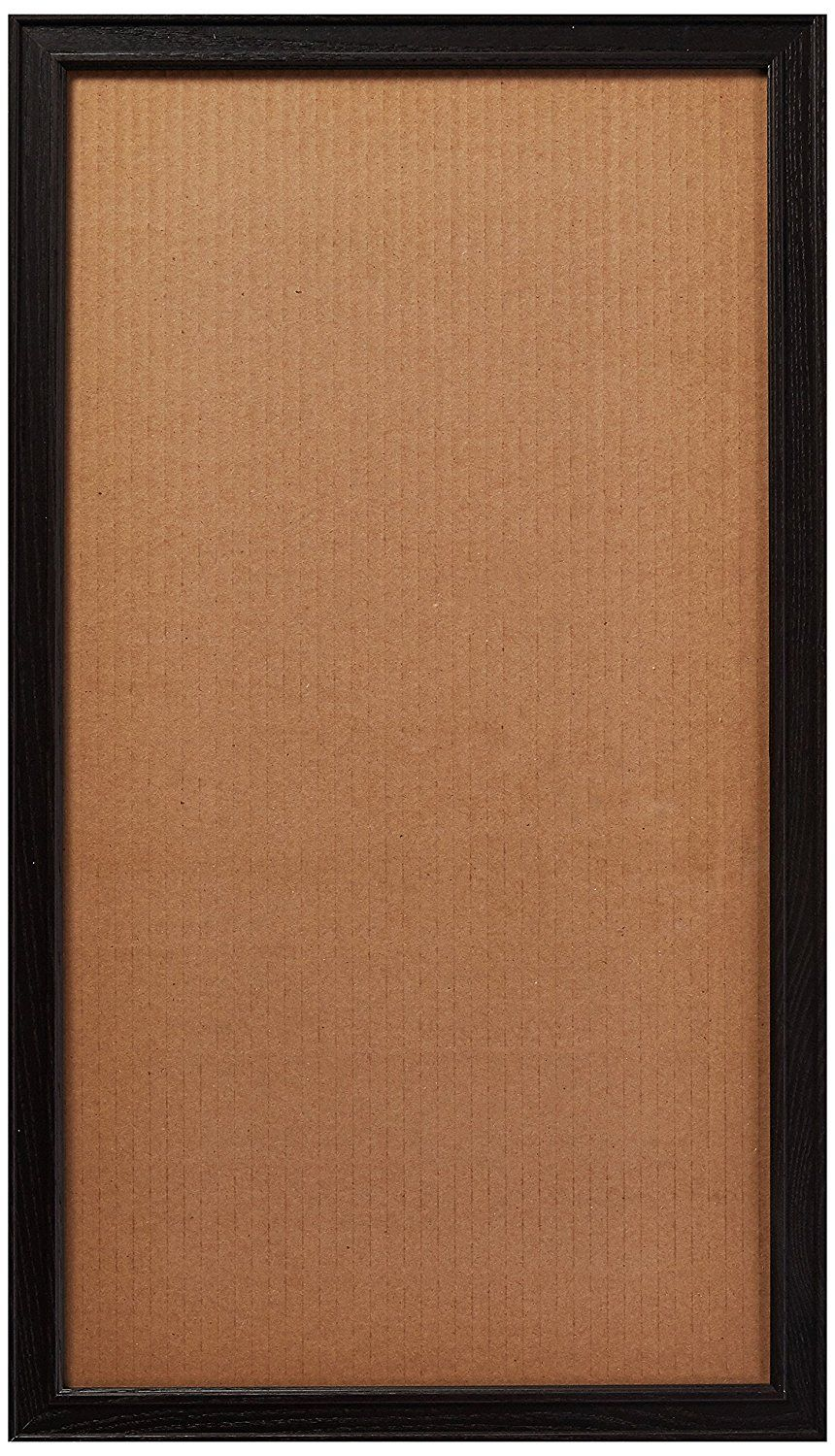 Arttoframes 10x16 Inch Black Stain On Maple Wood Picture Frame