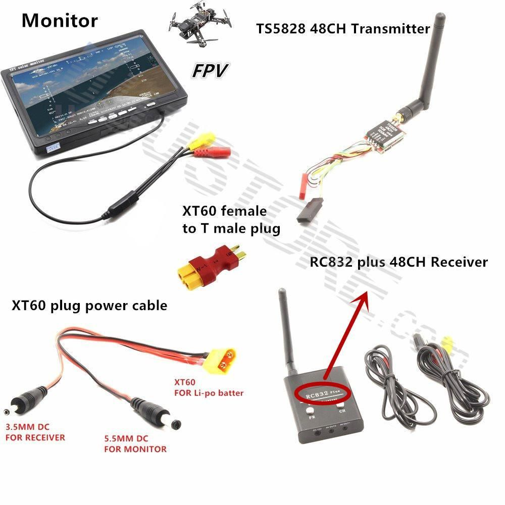 Ts5828 Fpv Wiring Wire Center Diagram Rc Combo System 5 8ghz 8g 600mw Mini Transmitter Rc832 Rh Pinterest Com Boat Schematics Diagrams