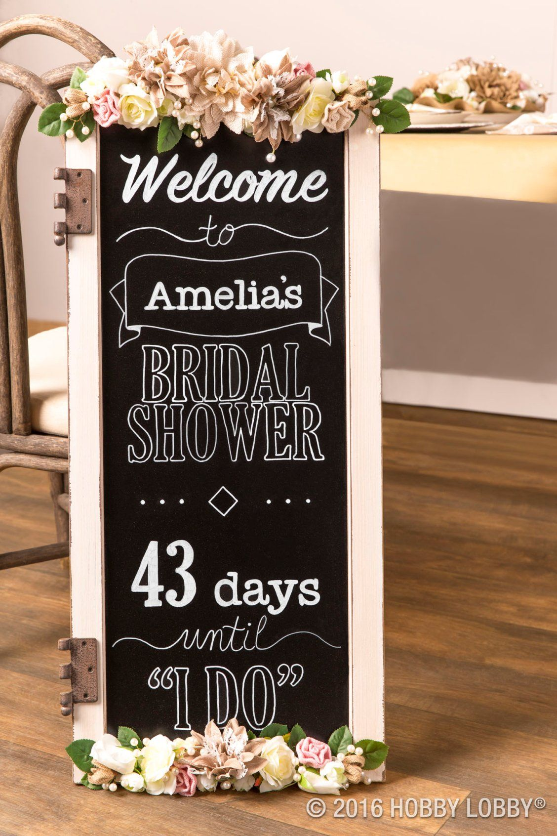 Celebrate The Bride To Be With Bridal Shower Decor That Suits Her