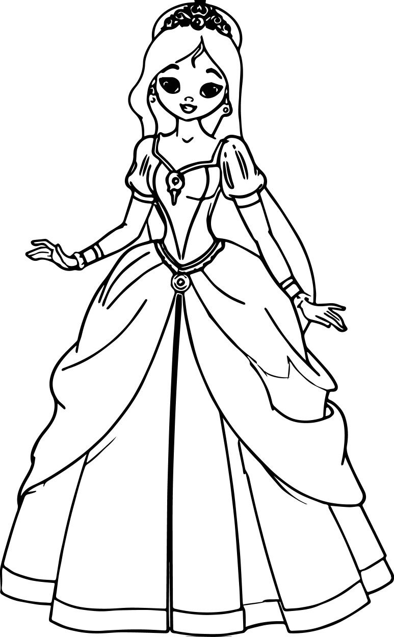 Pin By Ghusoon Shaheen On تلوين Princess Coloring Pages Barbie Coloring Pages Princess Coloring