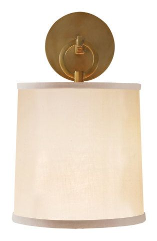 Bathroom Sconces Toronto 1 light wall sconce with silk shade :: wall sconces :: ceiling