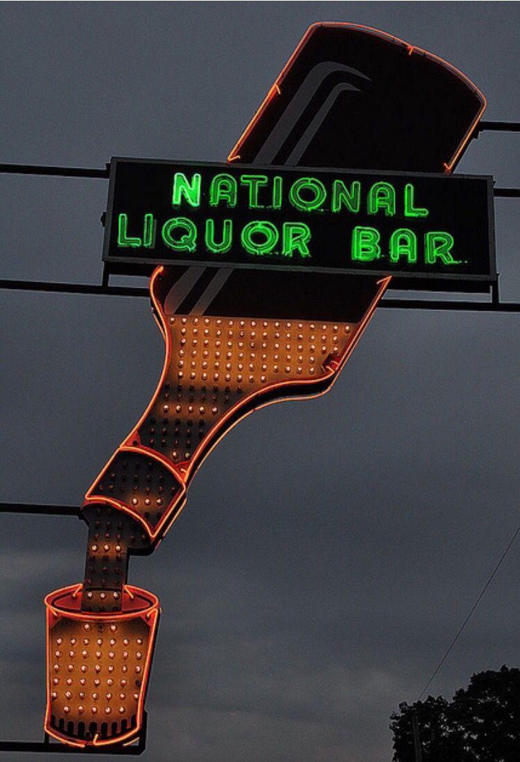 Pin by Karen Lines on Awesome Neon Liquor bar, Liquor