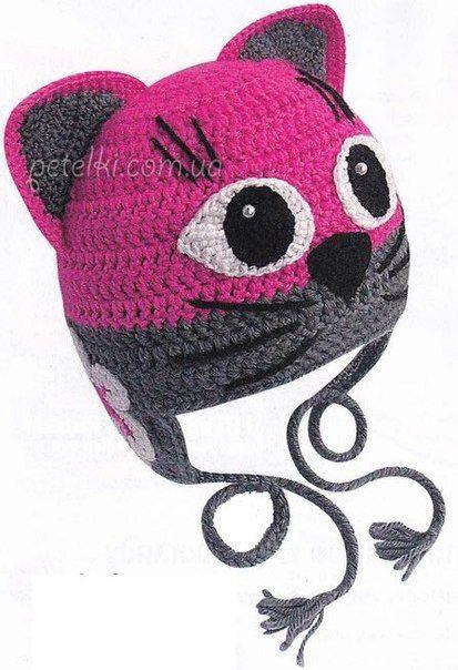 Ideas para el hogar: Patrones en crochet | boinas, gorras y más ...