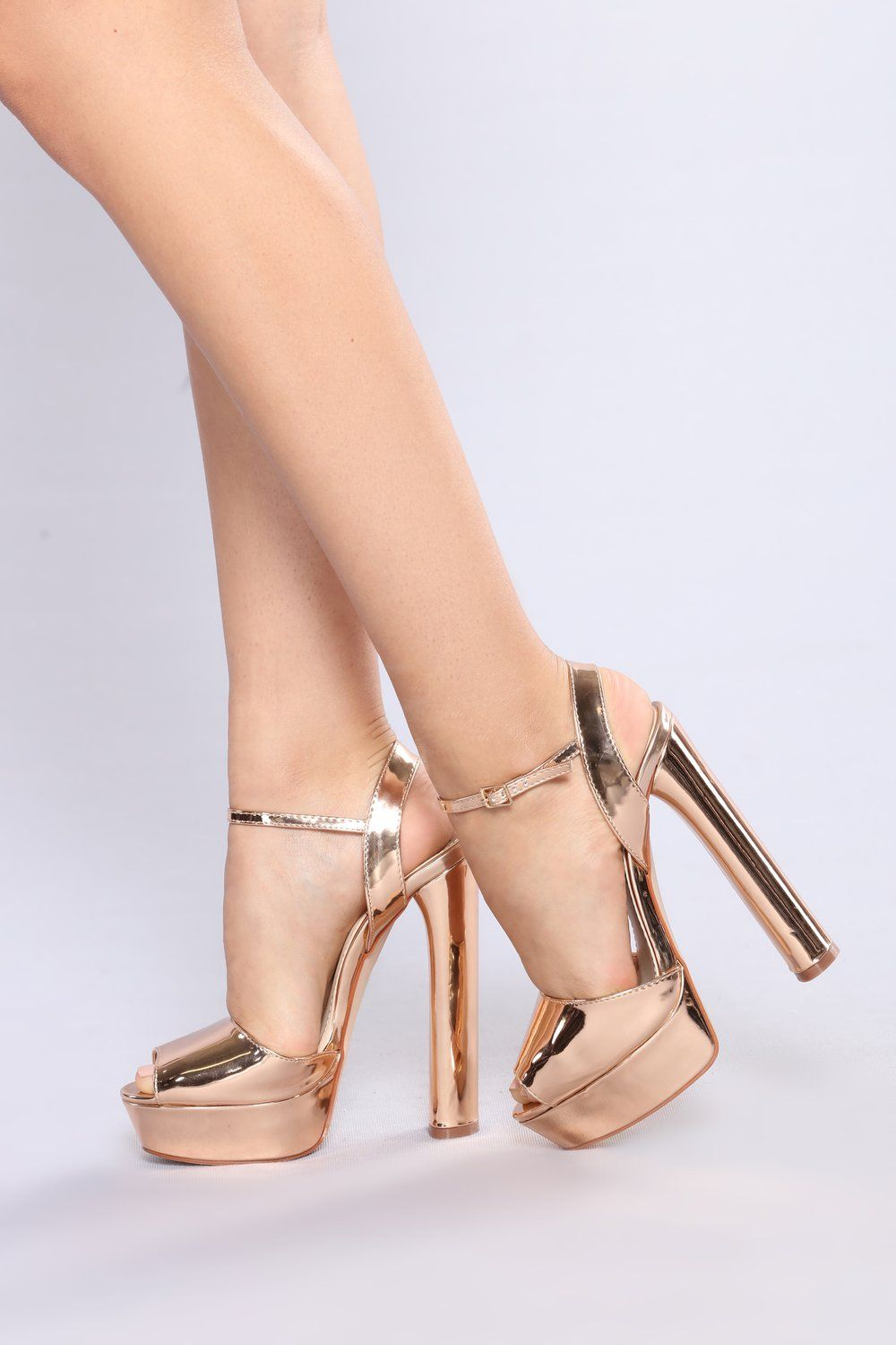 ddc1141dda7 Scuba Sexy Heel - Rose Gold | Sexy Heels in 2019 | Rose gold heels ...