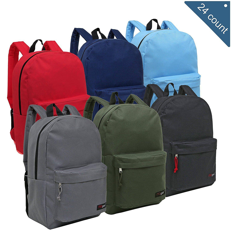 Whole Backpacks For Kids Bulk Case Of 24 Mggear