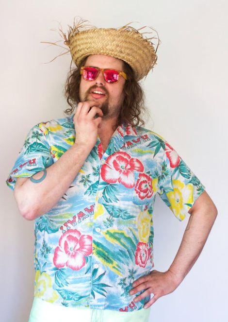 Radical Daddical on Antsquare: Mens vintage HAWAIIAN allover FLOWER print 70s PSYCHADELIC button up.  #vintage #vintageseattle #seattle #capitolhill  #radicaldaddical #menswear #hawaiianshirts