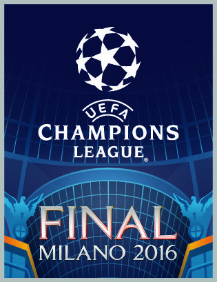 uefa champions league final milano futebol pinterest uefa champions league champions. Black Bedroom Furniture Sets. Home Design Ideas