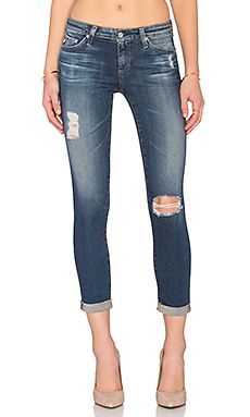 JEANS CROPPED THE STILT ROLL UP