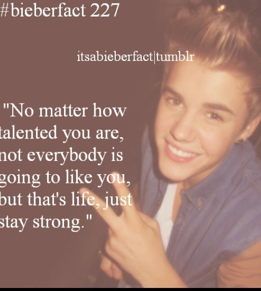 Pin By Angela On Bieber Facts Justin Bieber Facts Justin Bieber Quotes I Love Justin Bieber