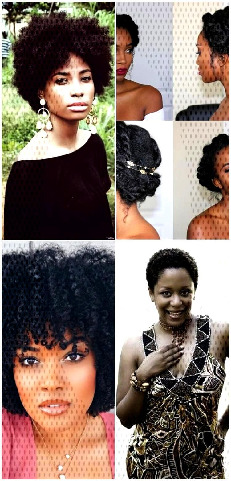 2018 Natural Hairstyles For Black Women - Afro Haircuts 2018 Natural Hairstyles For Black Women - A