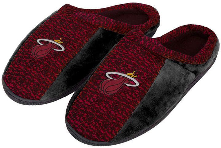 Forever Collectibles Miami Heat Knit Cup Sole Slippers