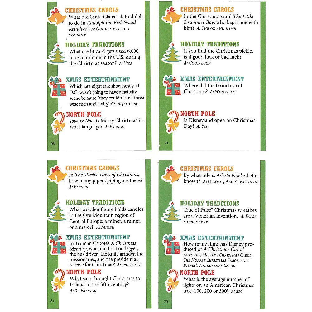 Christmas Trivia Game | Christmas | Pinterest | Christmas trivia ...