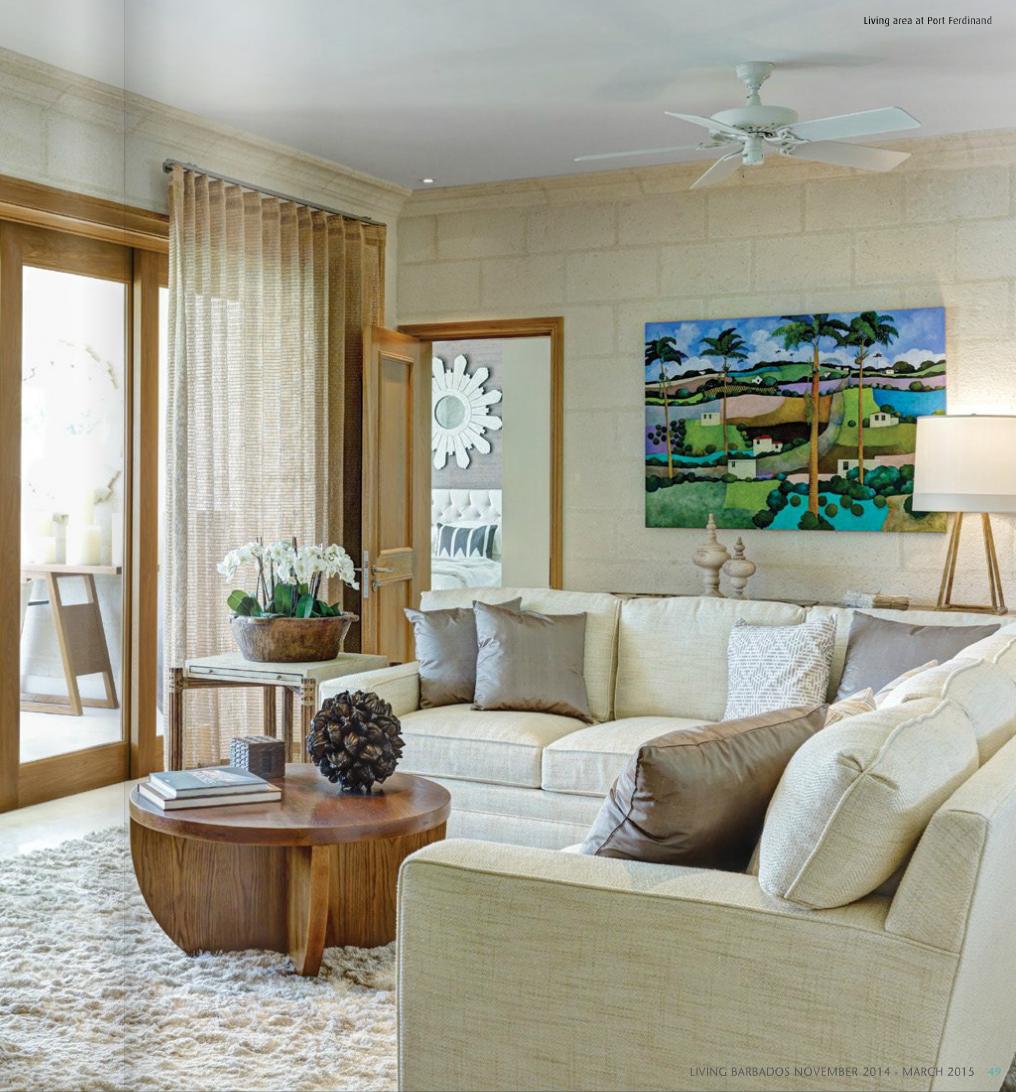 Living Hall Interior Design: Living Area At Port Ferdinand Designed By Archer's Hall