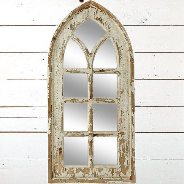 Distressed Arched Window Mirror Arched Window Mirror Arch Mirror Window Mirror