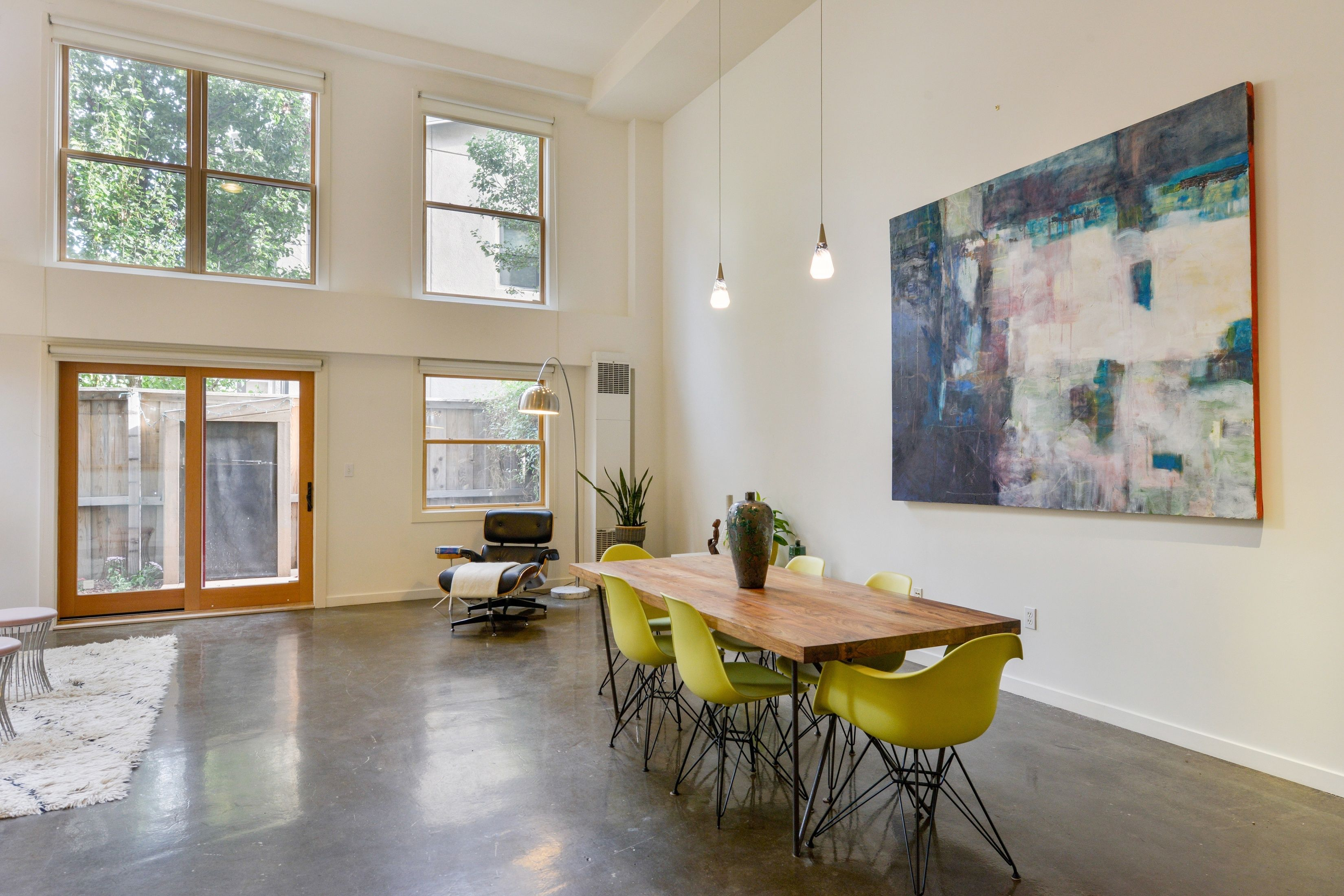 polished concrete floor loft. Check Out This Sleek Industrial Loft In Oakland\u0027s Funky Jingletown With Polished Concrete Floors And Soaring Floor T