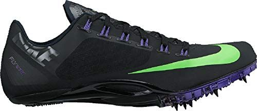 wholesale dealer 62e37 8c488 NIKE Superfly R4 Unisex Track and Field Spikes (7, Black Green  Strike Purple)