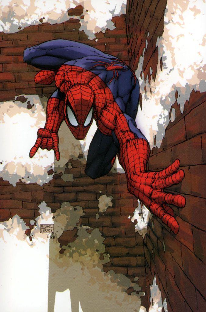 Spiderman - by Michael Turner   Geek art   Pinterest ...