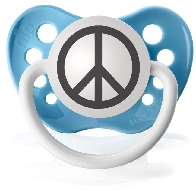 Kiditude Peace Blue Pacifier 595 Read More Httpkiditude