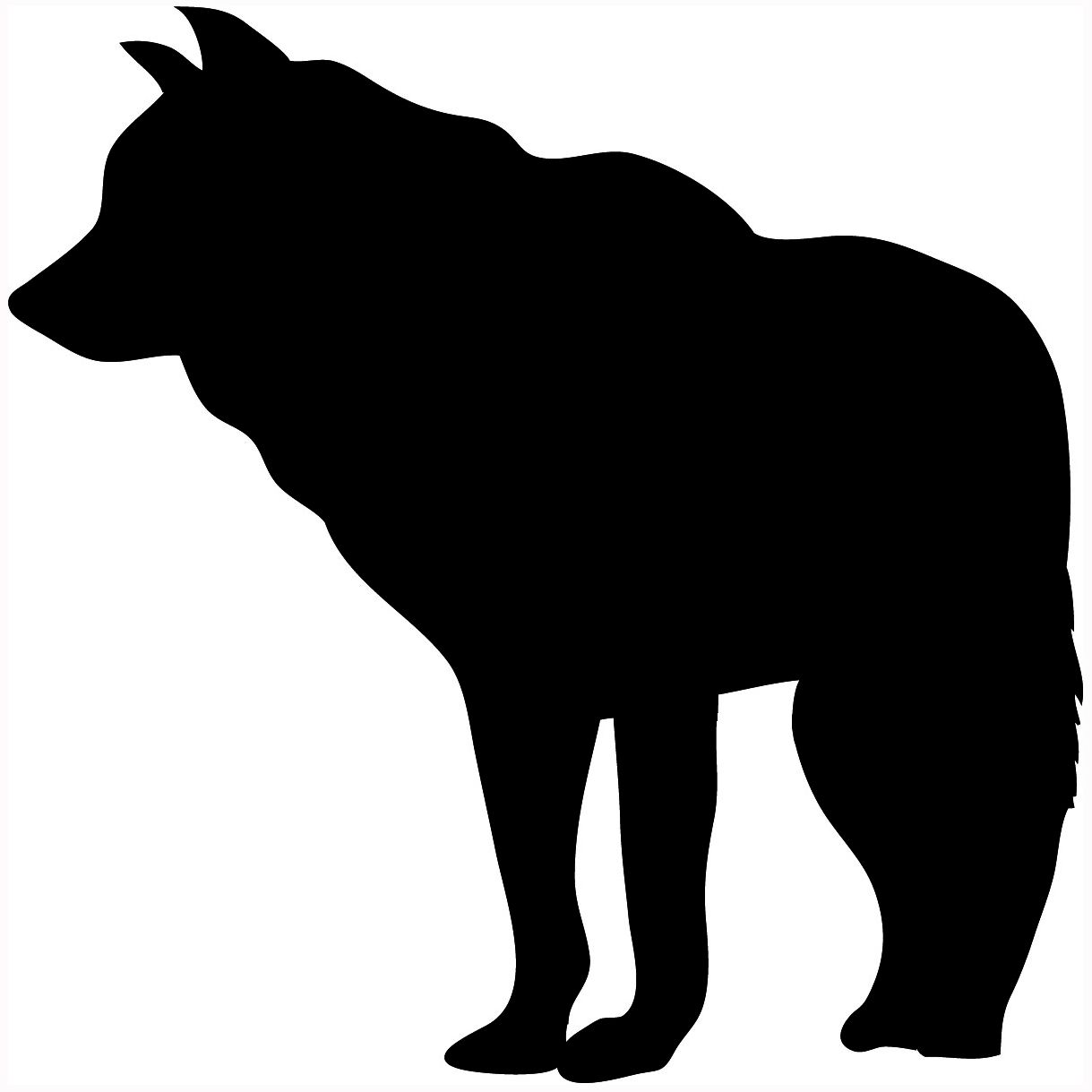 Wolf Silhouette Clipart Best Animal Silhouette Wolf Silhouette Silhouette Clip Art