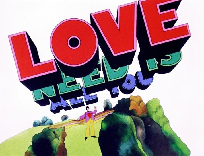 All You Need Is Love A Scene From The Animated Film Yellow