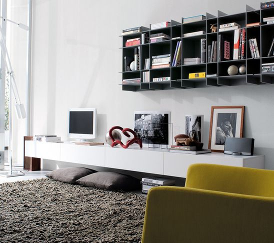 Poliform Floating Shelves Houzz