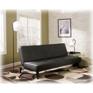 Ashley Furniture Signature Designvito Black Flip Flop Sofa