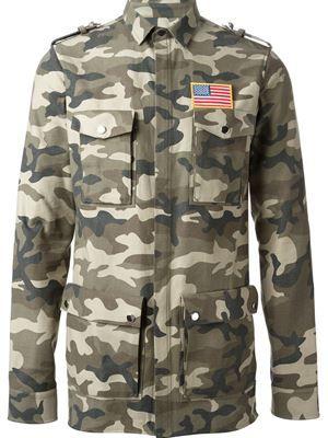 ec9d1863a46 BALMAIN camouflage shirt £566 sale £453 Balmain - Men s Designer Clothing -  Farfetch