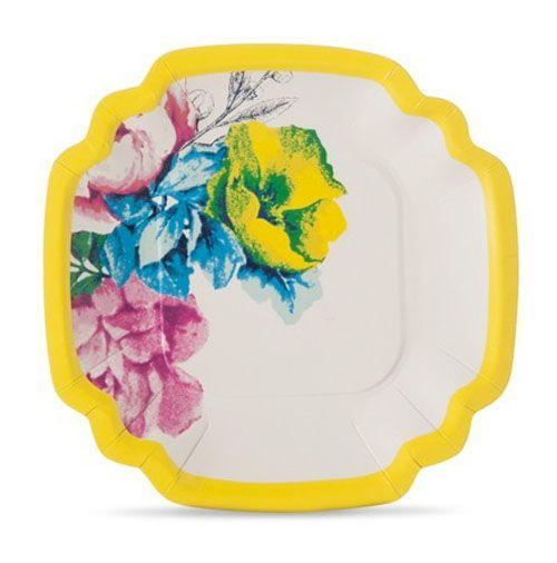 Poppytalk paper plates  sc 1 st  Pinterest & Poppytalk paper plates   Colour Me Softly   Pinterest   Fabric ...