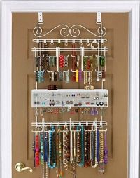 How To Organize Jewelry Other Accessories Tangled Doors and Dorm