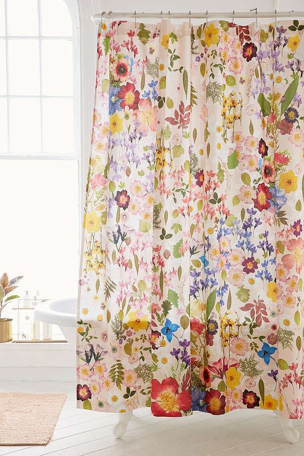 Pin By Anilu Magloire On Home Love Flower Shower Curtain Cool