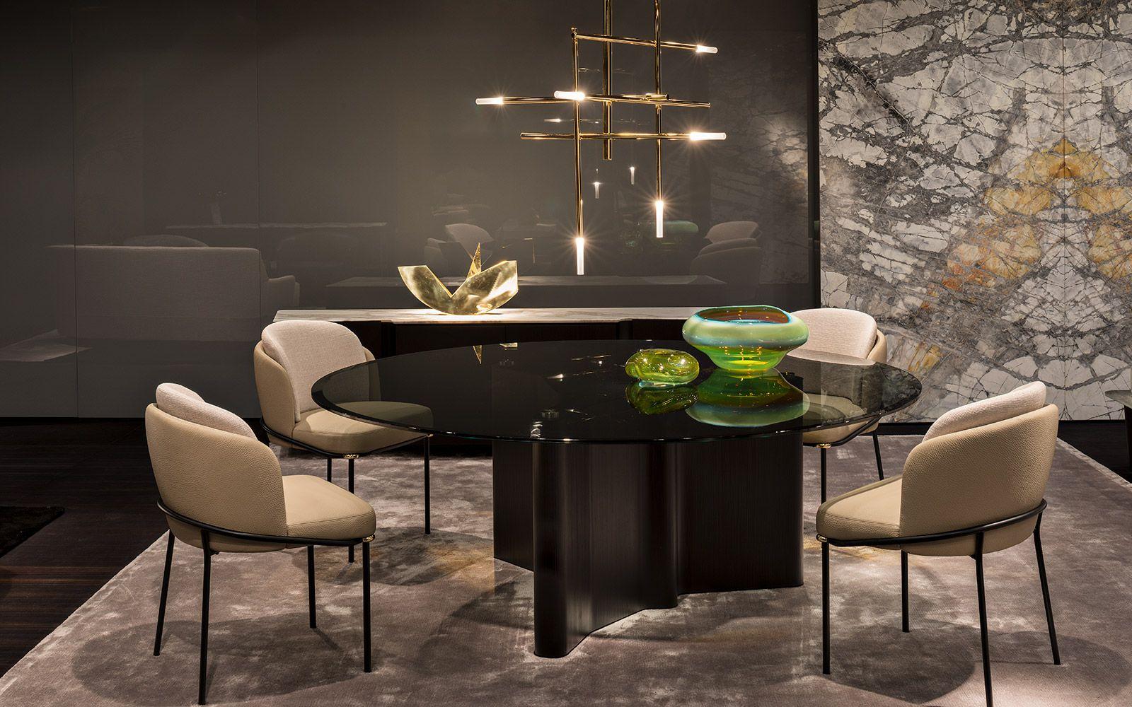 Lou Dining Christophe Delcourt Design Fil Noir Chair